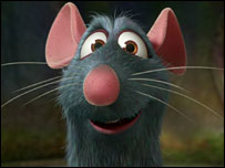 kitchen rat -- Pixar productions
