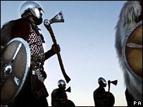 Up Helly Aa Viking fire festival on Shetland