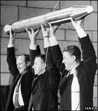 The team behind Explorer 1. Image: Nasa.