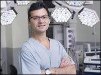 Mario Petrou, consultant cardiac and transplant surgeon