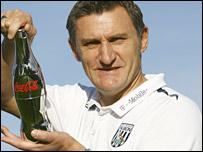 West Brom boss Tony Mowbray