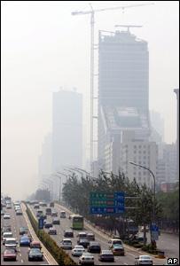 Smog in Beijing (Image: AP)