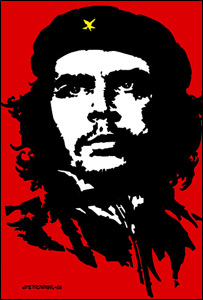 Che Guevara image by Jim Fitzpatrick (courtesy of Jim Fitzpatrick)