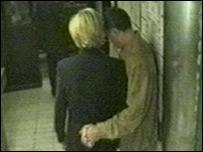 ديانا ودودي الفايد قبل مغادرة فندق ريتز بباريس