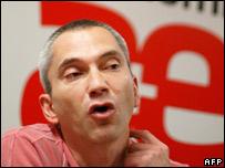 Joseba Permach, a leading member of Batasuna party (file photo)