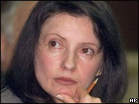 Tymoshenko in 2001