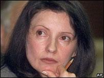 Tymoshenko in 2001