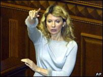 Tymoshenko in 2004