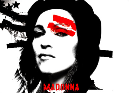 A promotional cover for Madonna's album 'American Life' (courtesy of Warner Bros.)