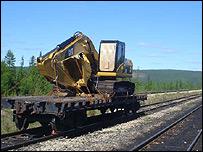 Siberian railway line