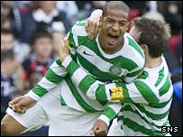 Celtic defender Jean-Joel Perrier Doumbe
