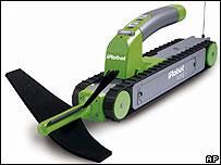 The Looj gutter cleaning robot
