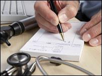 Doctor prescribes