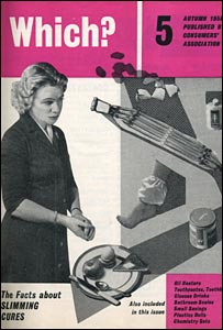 Which? cover autumn 1958