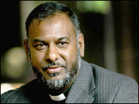 Dean of Manchester Cathedral, the Very Rev Rogers Govender