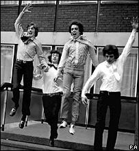 Члены группы Pink Floyd d 1967 году