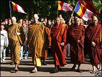 Monks in London
