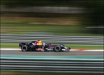Red Bull's David Coulthard