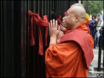 Monks at Downing St