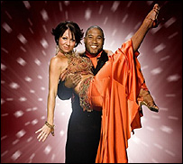 John Barnes is partnered with dancer Nicole Cutler