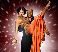 John Barnes is partnered with dancer Nicole Cutler