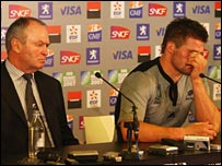 Graham Henry (left) and Richie McCaw (right)