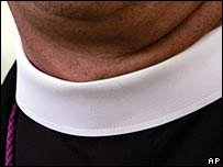 Clerical dog collar