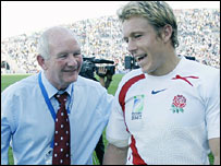 Brian Ashton and Jonny Wilkinson