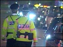 Strathclyde Police patrol