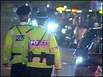 Strathclyde Police patrol