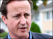 David Cameron, Conservative Party leader