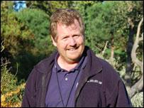 Tony Kirkham, head of the arboretum at Kew