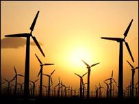 Wind farm (file pic)