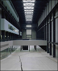 Shibboleth 2007 by Doris Salcedo.  Tate Modern.o