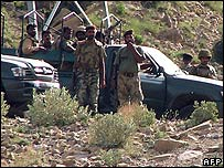 Pakistani army in Miranshah