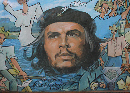 Che wall-painting
