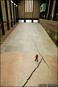Shibboleth 2007 by Doris Salcedo
