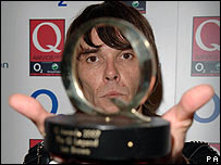 Ian Brown at the Q Awards