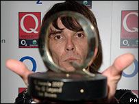 Ian Brown at the Q Awards