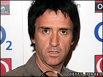 Johnny Marr at the Q Awards