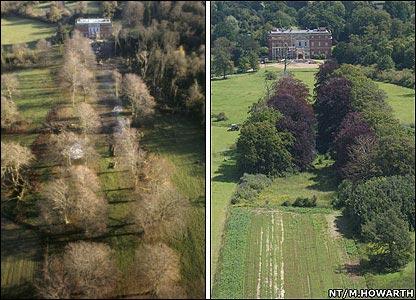Clandon Park, Surrey, (Left: 1987)