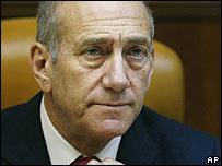 Israeli Prime Minister Ehud Olmert