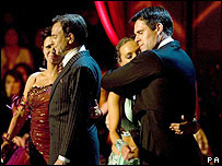 Strictly Come Dancing's Brian Capron (l) and Kenny Logan