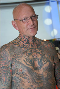 Tattoo veteran Colin Snow