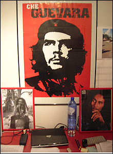 Che and Bob Marley