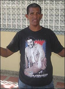 Che t-shirt in La Isla de Providencia, Colombia (Pic: Siegfried Ehrmann)