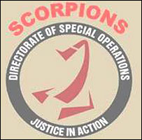 S Africa's Directorate of Special Operations logo  (official logo from DSO website)