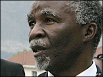 South African President Mbeki