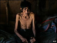 Apolinario Dominguez, 52, an Indian from the Toba ethnic group