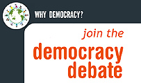 Click here to join the Democracy Debate